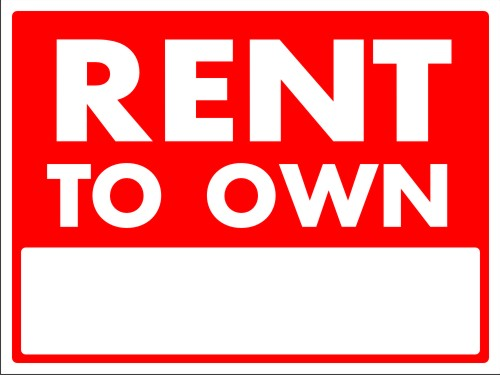Rent-to-Own Home Contracts